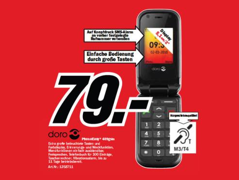 Doro PhoneEasy 409GSM ©Media Markt