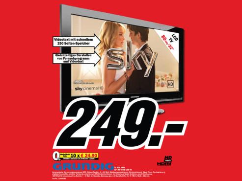 Grundig 32 GLX 2600 ©Media Markt
