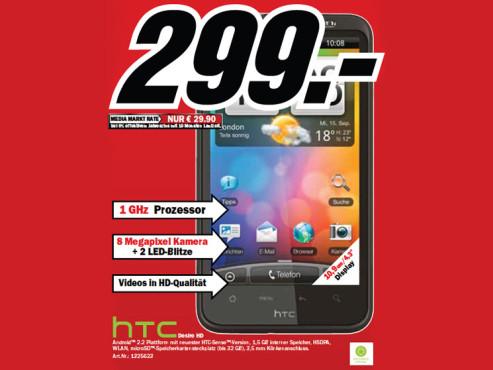 HTC Desire HD ©Media Markt