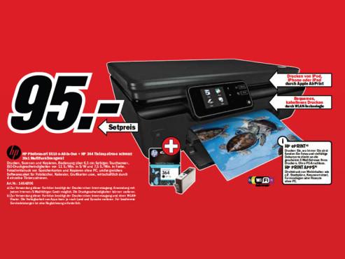 Hewlett-Packard HP Photosmart 5510 ©Media Markt