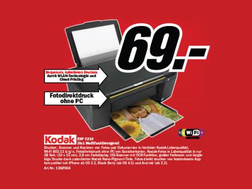 Kodak ESP C310 ©Media Markt
