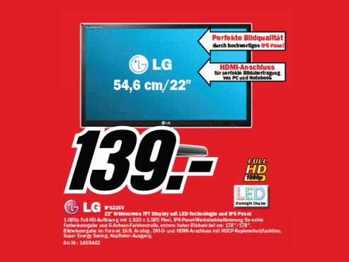 LG IPS225V ©Media Markt