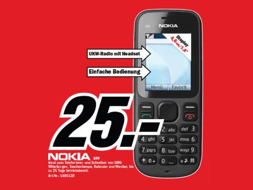 Nokia 100 ©Media Markt