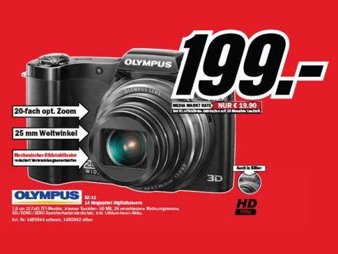 Olympus SZ-11 ©Media Markt