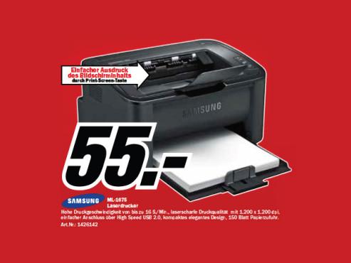 Samsung ML-1675 ©Media Markt