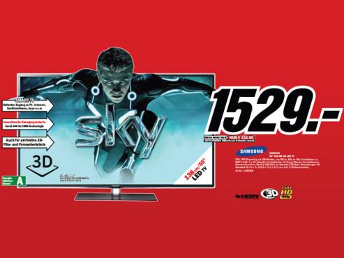 Samsung UE55D6500 ©Media Markt