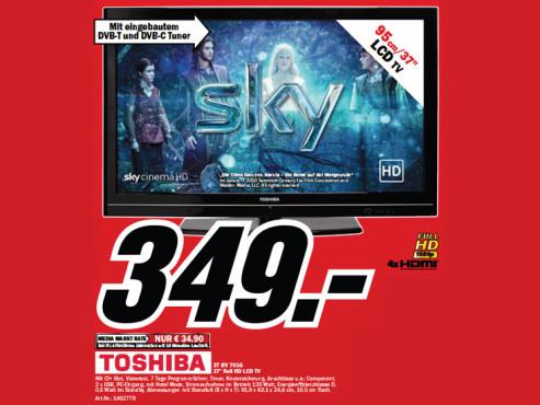 Toshiba 37BV701G ©Media Markt