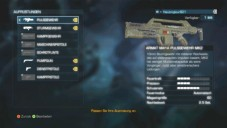 Actionspiel Aliens – Colonial Marines: Menu © Sega