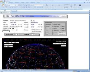 Excel-Planetarium