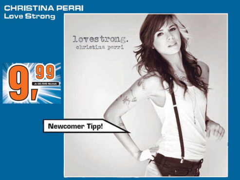 Christina Perri – Lovestrong © Saturn