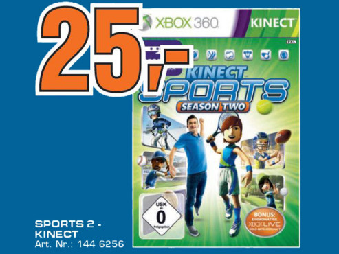 Kinect Sports – Season Two © Saturn