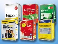 Die besten Steuerspar-Programme 2012 ©COMPUTER BILD