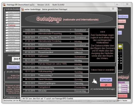 Screenshot 7 - Feiertage BRD