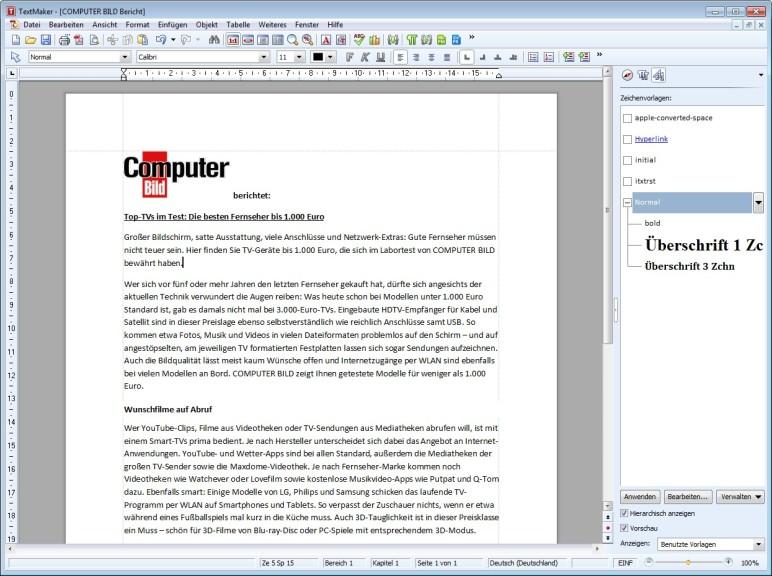 Screenshot 1   Ashampoo Office 2010 U2013 Kostenlose Vollversion