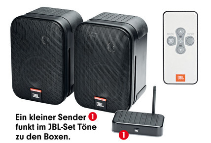 jbl on air control 2 4 g audio video foto bild. Black Bedroom Furniture Sets. Home Design Ideas