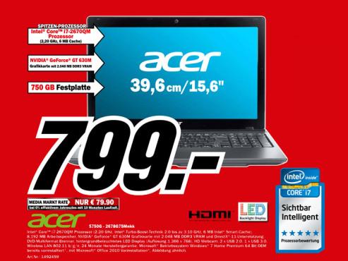 Acer 5750G-2678G75Mnkk ©Media Markt