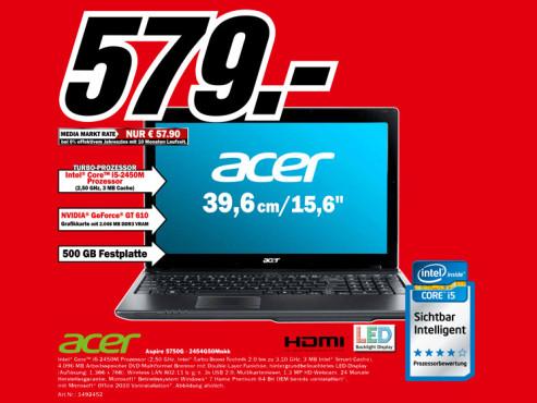 Acer Aspire 5750G-2454G50Mnkk ©Media Markt