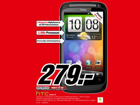HTC Desire S ©Media Markt