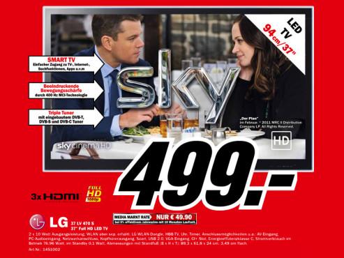 LG 37LV470 S ©Media Markt