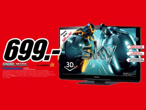 Panasonic TX-P50UT30 ©Media Markt