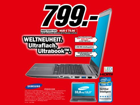 Samsung NP530U3B-A01DE ©Media Markt