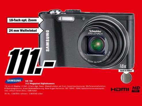 Samsung WB700 ©Media Markt