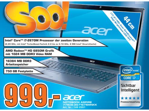 Acer 7750G-2671675MNKK ©Saturn