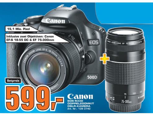 Canon EOS 500D ©Saturn