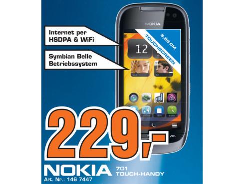 Nokia 701 ©Saturn