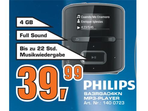 Philips SA3RGA04KN ©Saturn