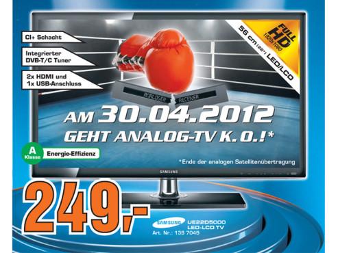 Samsung UE22D5000 ©Saturn