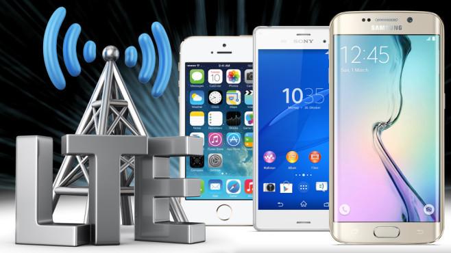 LTE Abdeckung Deutschland ©Tim - Fotolia.com, Apple, Sony, Samsung