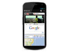 Google Chrome für Android 4.0 © Google