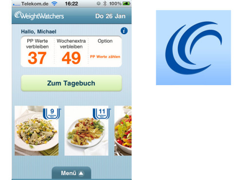 Weight Watchers Mobile DE © Weight Watchers International, Inc