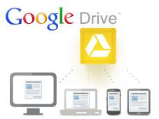 Google Drive: Cloud-Dienst startet mit fünf Gigabyte Gratis-Speicher In der kostenlosen Ausführung verfügt Google Drive über fünf Gigabyte Speicher. ©Google