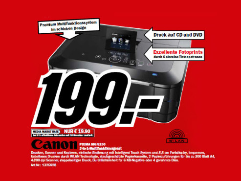 Canon PIXMA MG8150 ©Media Markt