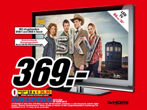 Grundig 32 VLE 6120 ©Media Markt