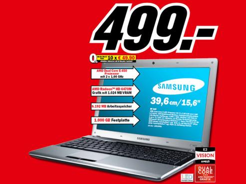 Samsung RV 515 ©Media Markt