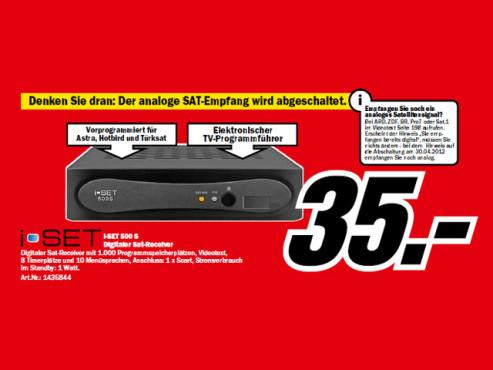 i-Set 500 S ©Media Markt