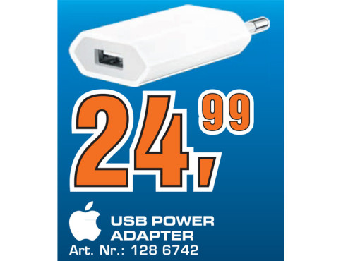 Apple USB Power Adapter © Saturn