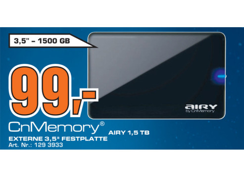 CnMemory Airy 1.5 TB © Saturn