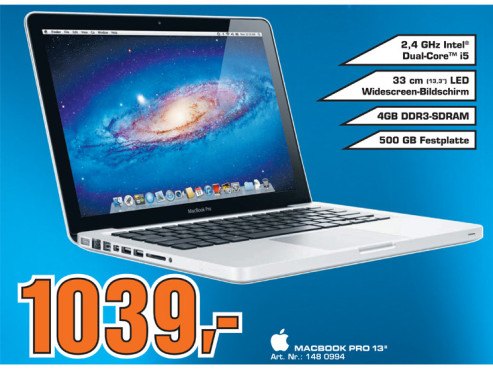 "Macbook Pro 13"" © Saturn"