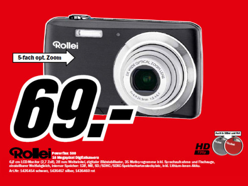 Rollei Powerflex 500 © Media Markt