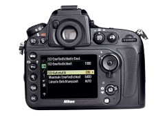 R�ckansicht Nikon D800 ©COMPUTER BILD