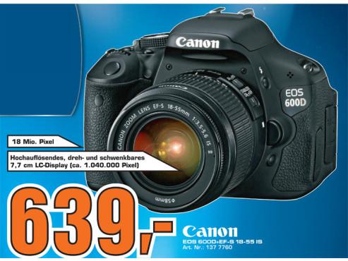Canon EOS 600D+ ©Saturn