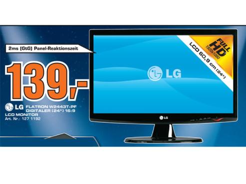 LG Electronics W2443T ©Saturn
