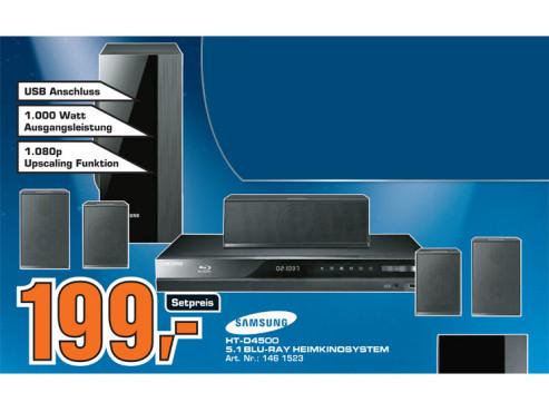 Samsung HT-D4500 ©Saturn