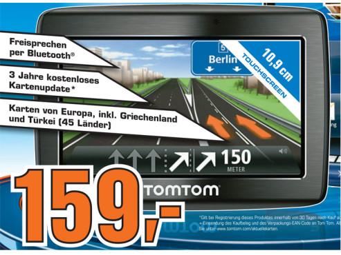 TomTom Via 120 Central Europe Traffic ©Saturn