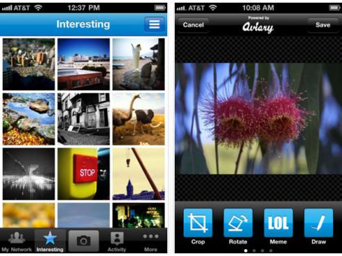 Screenshot Picplz ©COMPUTER BILD
