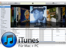 iTunes in der Version 10.5 © Apple